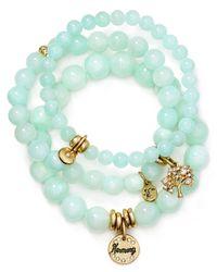Sequin - Blue Harmony Tree Bracelets, Set Of 3 - Lyst