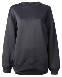Acne Studios   Gray Beta Geometric Sweatshirt   Lyst