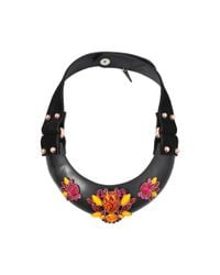Moutoncollet | Multicolor Ophrys Pollen Collar Necklace | Lyst
