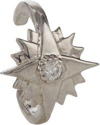 Sara Weinstock - Metallic Diamond White Gold Starburst Ear Cuff - Lyst