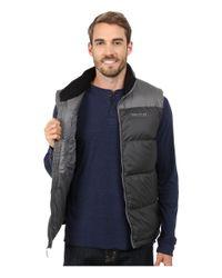 Marmot | Gray Guides Down Vest for Men | Lyst