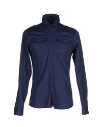 Dekker | Blue Shirt for Men | Lyst