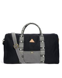 Rock Revival | Black Holdall for Men | Lyst