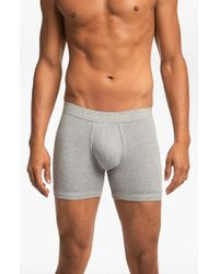 Calvin Klein | Gray Boxer Briefs for Men | Lyst