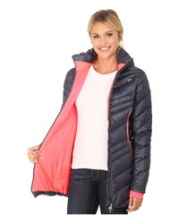 Spyder | Pink Timeless Long Down Jacket | Lyst