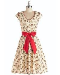 Folter Inc - Natural Darling Delivery Dress - Lyst
