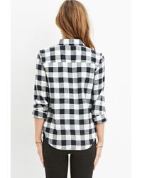 Forever 21 - Black Classic Buffalo Plaid Shirt - Lyst