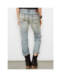 Denim & Supply Ralph Lauren - Blue Selvedge Skinny Boyfriend Jean - Lyst
