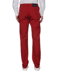 Valentino | Red Casual Pants for Men | Lyst