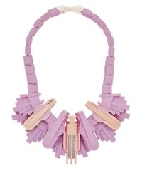 EK Thongprasert | Pink Art De Co' Necklace | Lyst