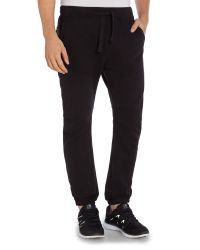 Duck and Cover | Black Charter Combat Jog Pant for Men | Lyst