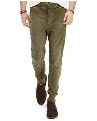 Polo Ralph Lauren | Green Jersey Utility Pant for Men | Lyst