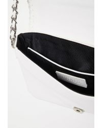 Forever 21 - White Faux Leather Crossbody - Lyst