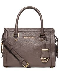 Michael Kors | Brown Michael Collins Small Satchel | Lyst