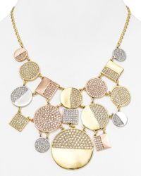 "kate spade new york - Multicolor Light The Lanterns Bib Necklace, 18"" - Lyst"