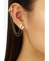 Ana Khouri - Metallic Libertines 18karat Gold Earring - Lyst