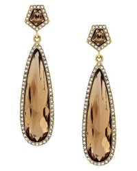 Vince Camuto | Metallic Golden Era Elongated Drop Earrings | Lyst