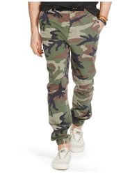 Denim & Supply Ralph Lauren | Green Men's Chino Hiking Pants for Men | Lyst