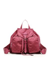 Gucci - Pink Nylon Ssima Light Backpack - Lyst