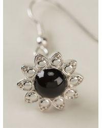 Vivienne Westwood - Metallic Flower Earrings - Lyst