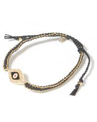 Tai | Metallic Hammered Gold Infinity Bracelet | Lyst