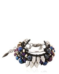 Assad Mounser | Blue Iggy Bracelet | Lyst