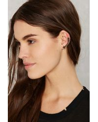 Nasty Gal - Metallic Montana Star Cuff And Stud Set - Lyst