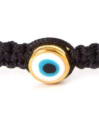 Tai - Small Black Evil Eye Woven Bracelet - Lyst