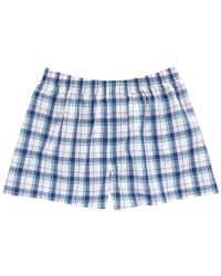 Thomas Pink | Blue Middleton Check Boxers for Men | Lyst