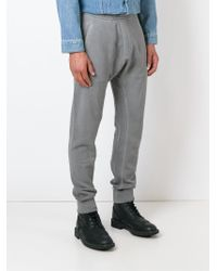 DSquared² - Gray Track Trousers for Men - Lyst