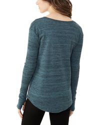 Alternative Apparel | Blue Roundabout Eco-space Dye Thermal Top | Lyst