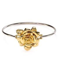 Marc By Marc Jacobs - Metallic Jerrie Rose Hinge Bangle - Lyst