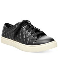 Madden Girl | Black Evette Quilted Sneakers | Lyst