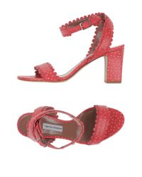 Tabitha Simmons | Red Sandals | Lyst