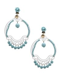 Mercantia - Blue Earrings - Lyst