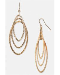 Argento Vivo - Metallic Drop Earrings - Lyst