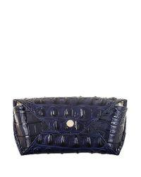 Brahmin | Blue Leather Eyeglass Case | Lyst