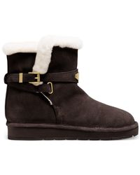 Michael Kors | Brown Michael Sandy Cold Weather Booties | Lyst