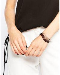 Oasis - Multicolor Wave Cuff Bracelet Multipack - Lyst