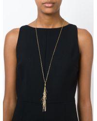 Isabel Marant - Metallic Tassel Necklace - Lyst