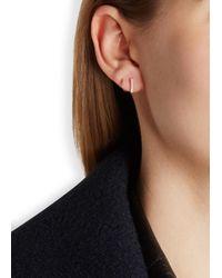 Maria Black - Pink Senae Twirl Diamond Rose Gold-plated Earrings - Lyst