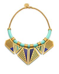 A Peace Treaty | Green Ohoyo Collar Necklace | Lyst