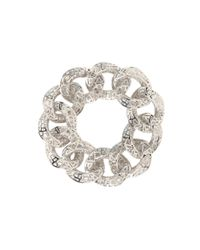 "Roberto Coin - Metallic Skyline Link Bracelet 7"" - Lyst"
