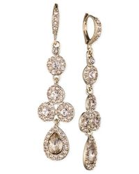 Givenchy | Metallic Gold-tone Pear Drop Earrings | Lyst