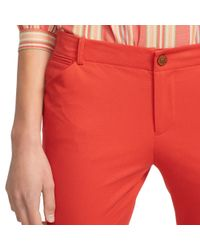 Pink Pony - Red Stretch Cotton Skinny Pant - Lyst