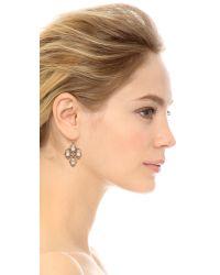 Alexis Bittar - Metallic Spur Lace Wire Earrings - Silver Multi - Lyst
