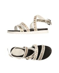 Gionata - White Sandals - Lyst