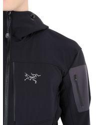 Arc'teryx - Gray Gamma Mx Hoody Stretch Softshell Jacket - Lyst
