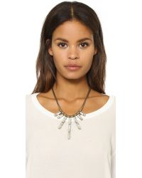 Auden - Metallic Hailey Necklace - Lyst