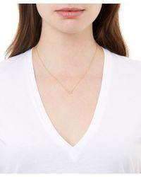 Annoushka - Metallic Gold Love Diamonds Horseshoe Necklace - Lyst